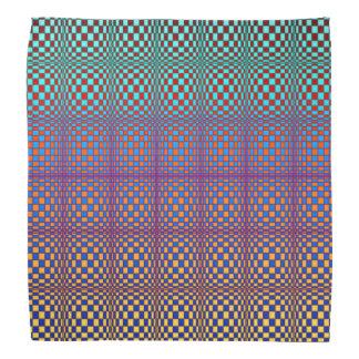 Bandana Quadrados 3 do abstrato