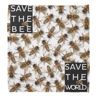 Bandana Salvar a abelha! Salvar o mundo! Abelha