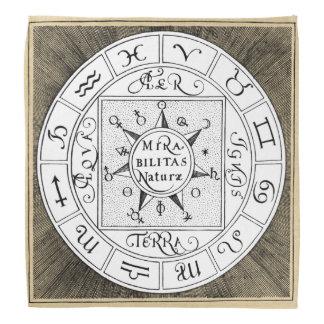 Bandana Símbolos do zodíaco do sinal da astrologia