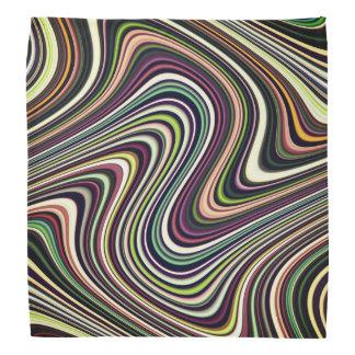 Bandana Teste padrão brilhantemente colorido do abstrato