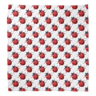Bandana Teste padrão dos joaninhas