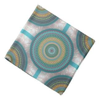 Bandana Teste padrão floral étnico abstrato colorido da