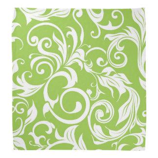 Bandana Teste padrão saboroso do papel de parede floral do