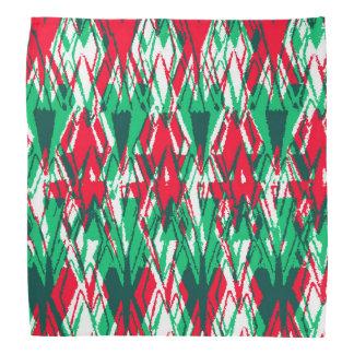 Bandana Teste padrão vermelho bonito do asteca do abstrato
