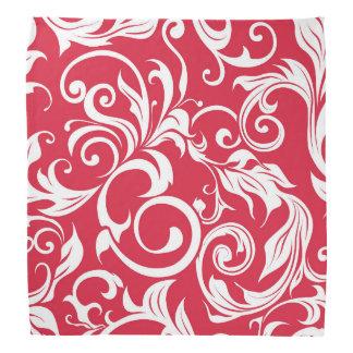 Bandana Teste padrão vermelho moderno do papel de parede