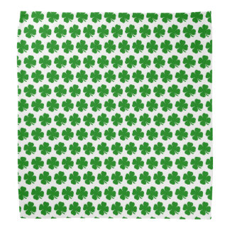 Bandana Trevo verde afortunado irlandês