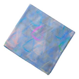 Bandana Triângulos coloridos arte abstracta