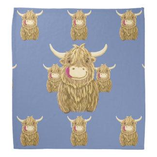 Bandana Vaca pequenina personalizada das montanhas de