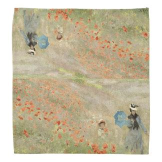 Bandana vermelho dos Wildflowers do campo da