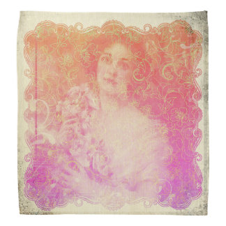 Bandana Vintage, époque do belle, senhora bonita,