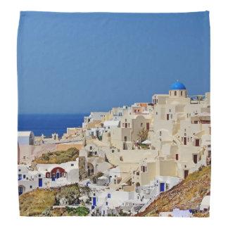 Bandana Vista panorâmica de Santorini