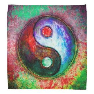 Bandana Yin Yang - Colorful Painting III