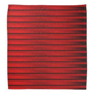 bandanas vermelhos, listras, coloridas+