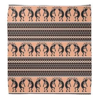 Bandanna asteca do teste padrão de Kokopelli do Faixas Para Cabeça