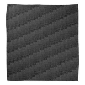Bandanna do ™ de matéria têxtil (obsidiana) bandana