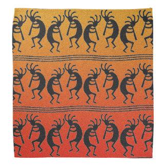 Bandanna do por do sol de Kokopelli do design do Faixas Para Cabeça