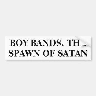 Bandas do menino. O Spawn da satã Adesivo Para Carro