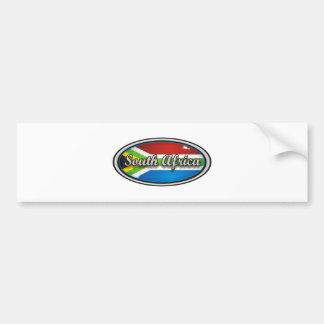 Bandeira 1 de África do Sul Adesivo Para Carro