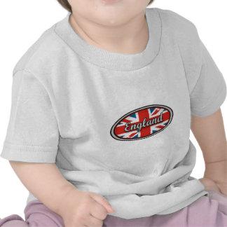 Bandeira 1 de Inglaterra Camisetas