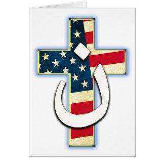 Bandeira #1 do Nazarene Cartão Comemorativo