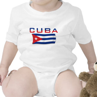 Bandeira 2 de Cuba Macacãozinho