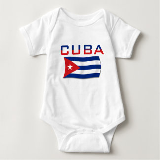 Bandeira 2 de Cuba T-shirt