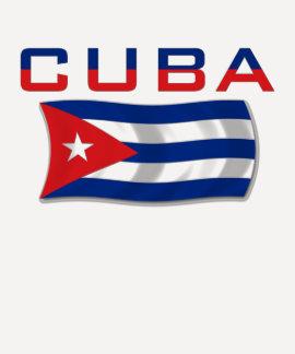 Bandeira 2 de Cuba Tshirts