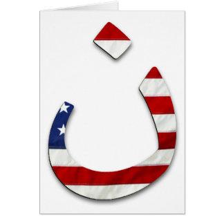Bandeira #2 do Nazarene Cartão Comemorativo