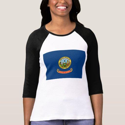 Bandeira 2.png do estado de Idaho Camisetas