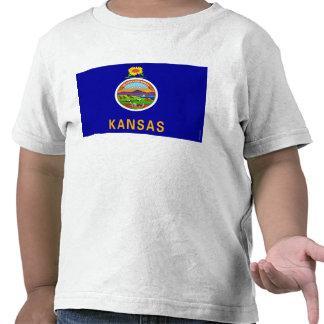 Bandeira 2.png do estado de Kansas Camisetas