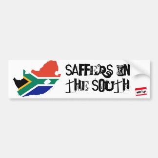 bandeira 3 de África do Sul, meetup_logo_100_white Adesivo Para Carro