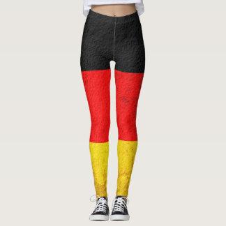 Bandeira #3 de Alemanha Leggings