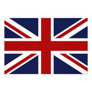 Bandeira 3 de Inglaterra Impressão Fotográfica