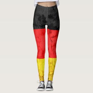 Bandeira #4 de Alemanha Leggings