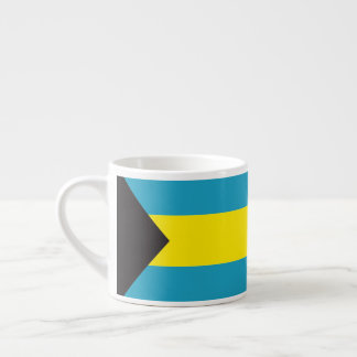 Bandeira abstrata de Bahamas, caneca de café