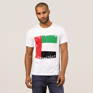 Bandeira abstrata dos UAE, camisa de United Arab