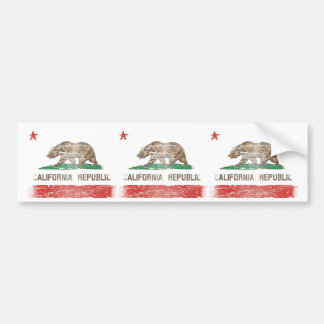 Bandeira afligida da república de Califórnia Adesivo Para Carro