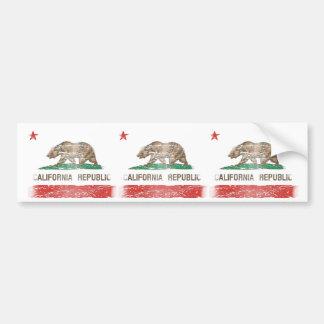 Bandeira afligida da república de Califórnia