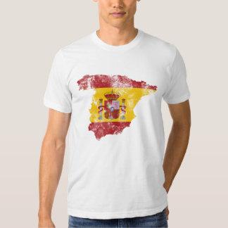 Bandeira afligida espanha tshirt