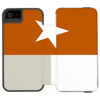 Bandeira alaranjada de Texas