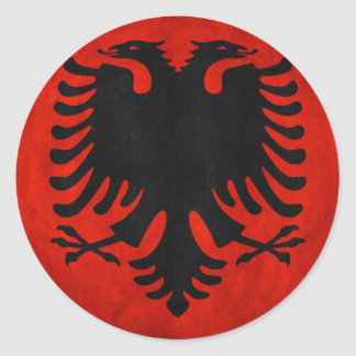 Bandeira albanesa adesivo