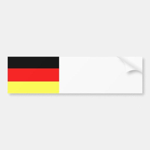 Bandeira alemão adesivos