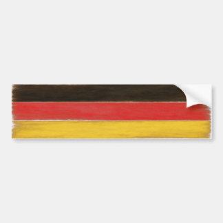 Bandeira alemão afligida legal do autocolante no adesivo de para-choque