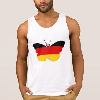 Bandeira alemão - borboleta