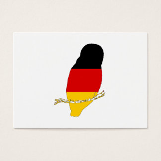 Bandeira alemão - coruja cartão de visitas