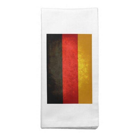Bandeira alemão guardanapo de pano