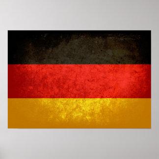 Bandeira alemão poster