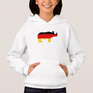 Bandeira alemão - rinoceronte