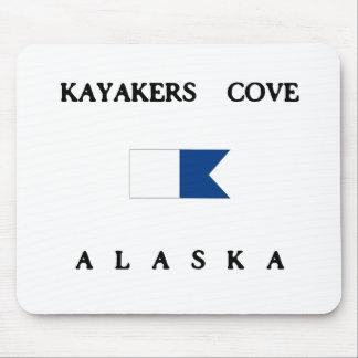 Bandeira alfa do mergulho de Alaska da angra dos K