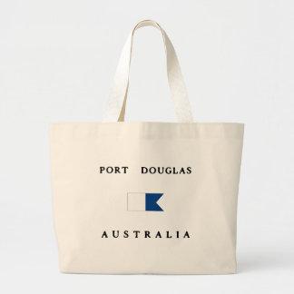 Bandeira alfa do mergulho de Port Douglas Austráli Bolsas